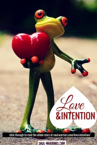 Love & Intention Pin