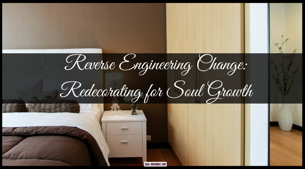 Have an area of life that is not working, despite lots of attention and maybe therapy around it? Try redecorating for soul growth - it's fun & powerful!