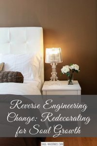 Have an area of life that is not working, despite lots of attention and maybe therapy around it? Try redecorating for soul growth - it's fun & powerful! Read more at http://www.soul-warriors.com/reverse-engineering-change-redecorating-for-soul-growth/