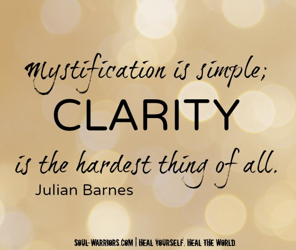 Mystification is simple...Barnes #HealYourselfHealtheWorld