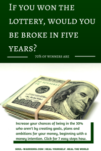 If you won the lottery, would you be broke in five years-