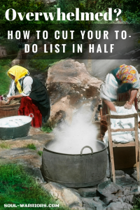 how to cut your to-do list in half