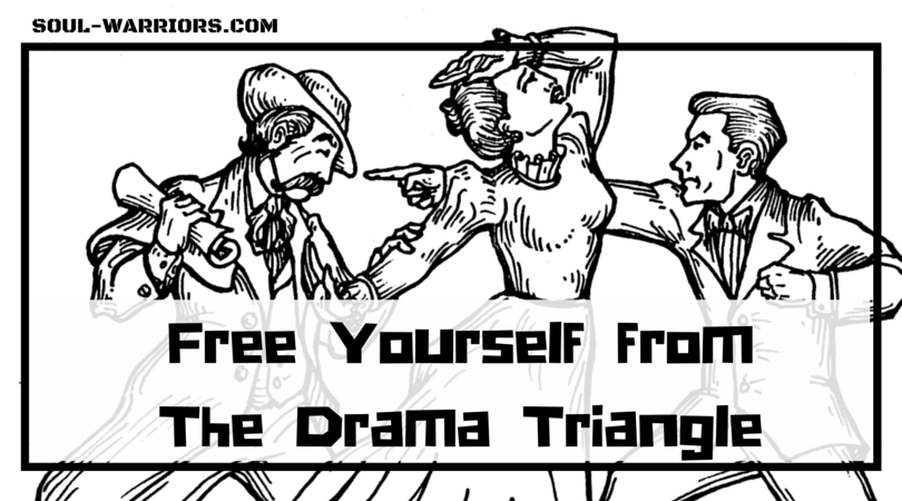 If you are sick of getting stuck in the roles of persecutor, victim, or rescuer, try this quick method to free yourself from the pain of the drama triangle.  Read it at: http://www.soul-warriors.com/free-yourself-from-the-drama-triangle/