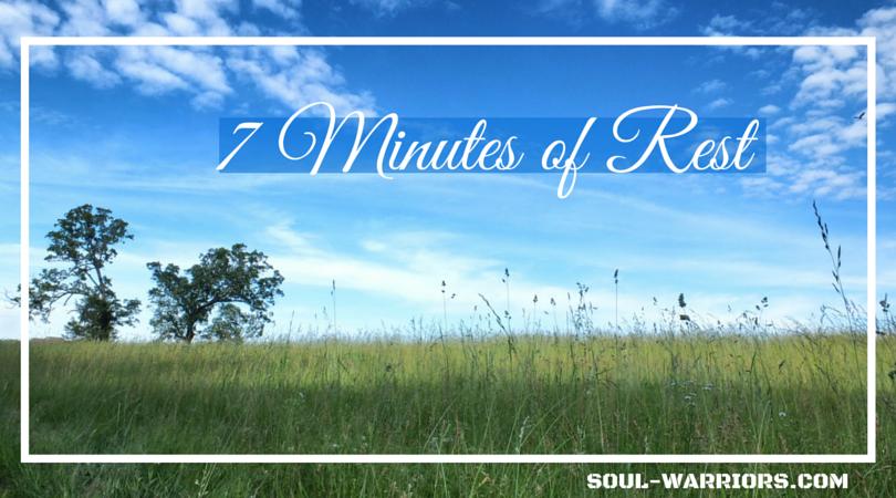 7 Minutes of Rest FB