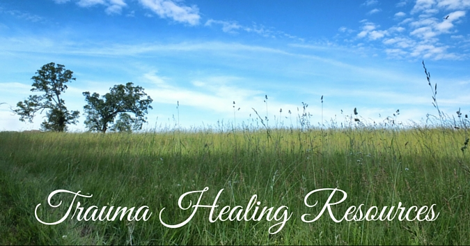 Trauma Healing resources