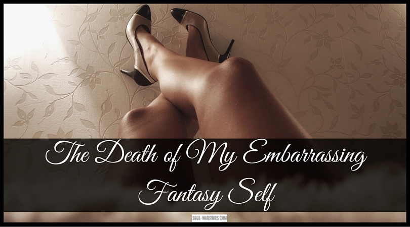 My thin fantasy self was my favorite part of my happily-ever-after dream. She was glorious, confident, unstoppable. She had a valuable lesson for me. Learn it at: http://www.soul-warriors.com/the-death-of-my-embarrassing-fantasy-self/