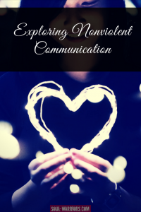A brief introduction to Nonviolent communication and a list of resources to explore in more depth. Read at:http://www.soul-warriors.com/exploring-nonviolent-communication/